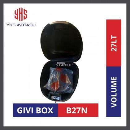 GIVI BOX B27N HARD BAG MONOLOCK CAPACITY SIZE 27L