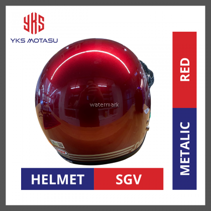 SGV 99 HELMET Colour Red with Free Gift BOGO VISOR