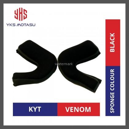 KYT VENOM SPONGE COLOUR BLACK 100% ORIGINAL