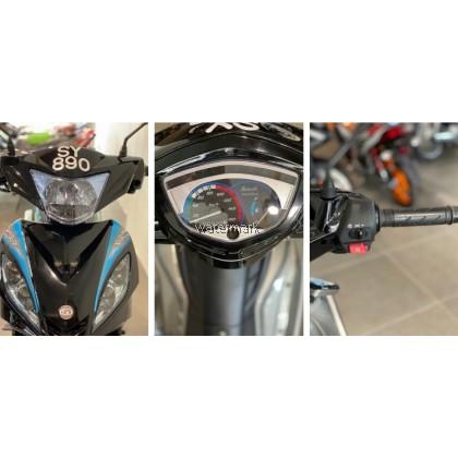 DEMAK EVO Z 110CC COLOUR BLACK (INTERCHANGE NEW BIKE SY890) YEAR 2011