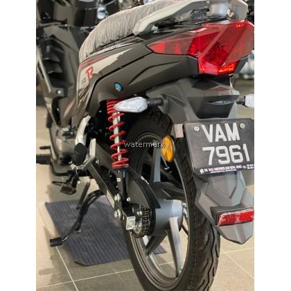 SM SPORTS 110CC R COLOUR BLACK (INTERCHANGE NEW BIKE VAM7961) YEAR 2019