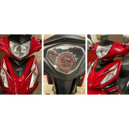 MODENAS MR2 KRISS 110CC COLOUR RED (INTERCHANGE NEW BIKE MCU5530)  YEAR 2017