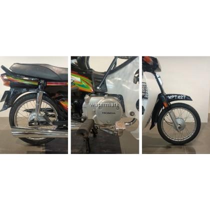 HONDA EX5 100CC COLOUR BLACK (SECOND HAND BIKE WPT427) YEAR 2006